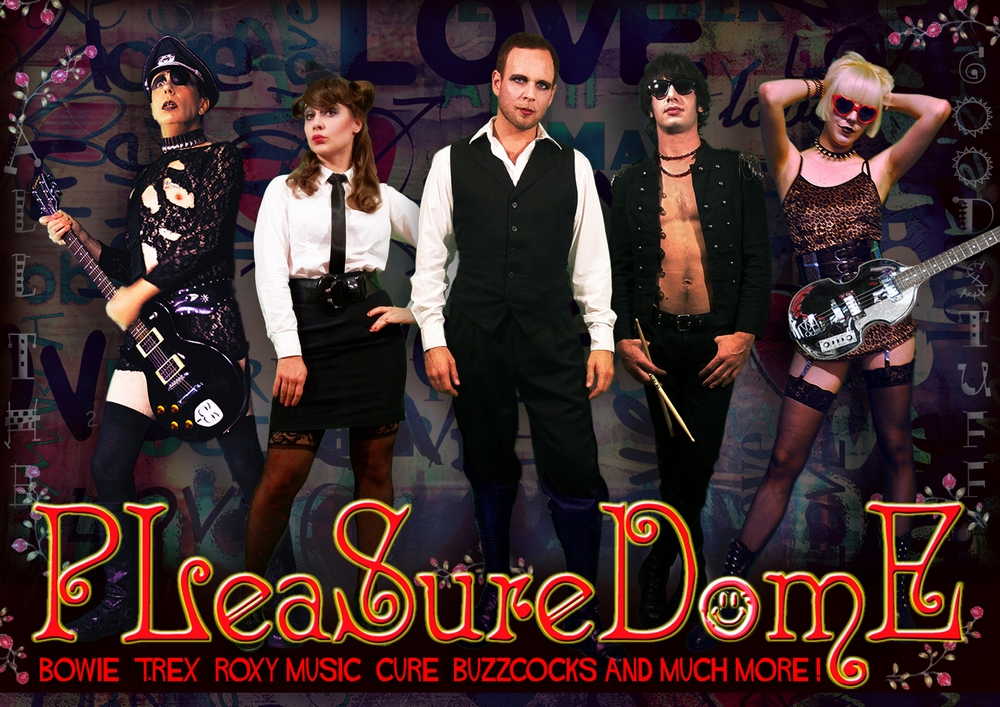 PLEASUREDOME - Glam Rock Cover